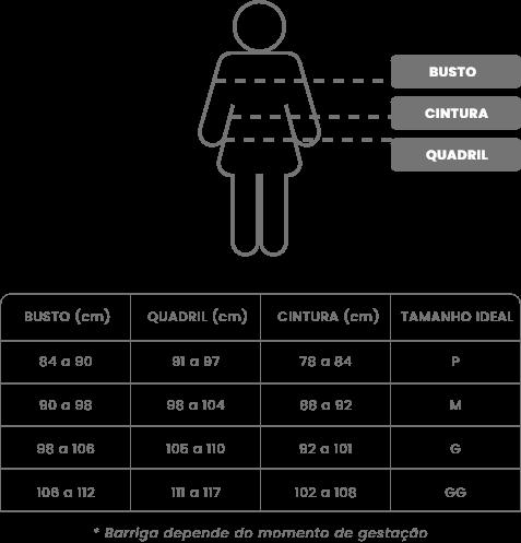 Banner - Tabela de medidas