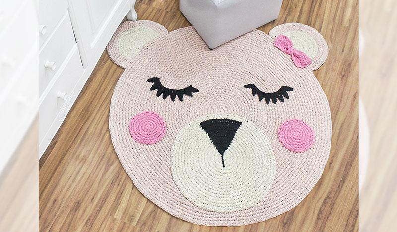 tapete infantil - croche