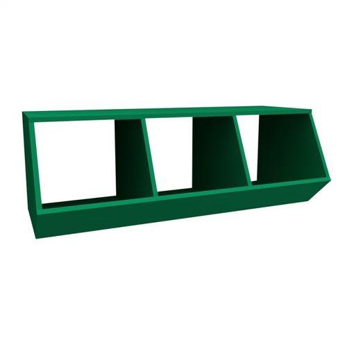 Nicho Montessoriano com 3 Espaços Viena Verde Bandeira