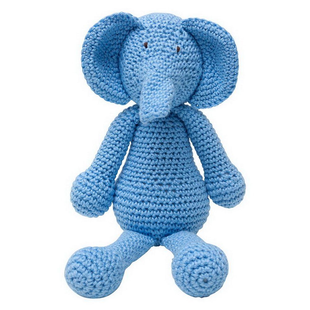 Elefante Amigurumi Em Croche - R$ 59,00 em Mercado Livre | 1000x1000