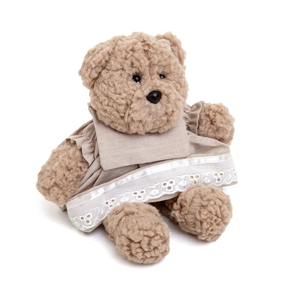 Ursa Lucy Pequena Bege Cru