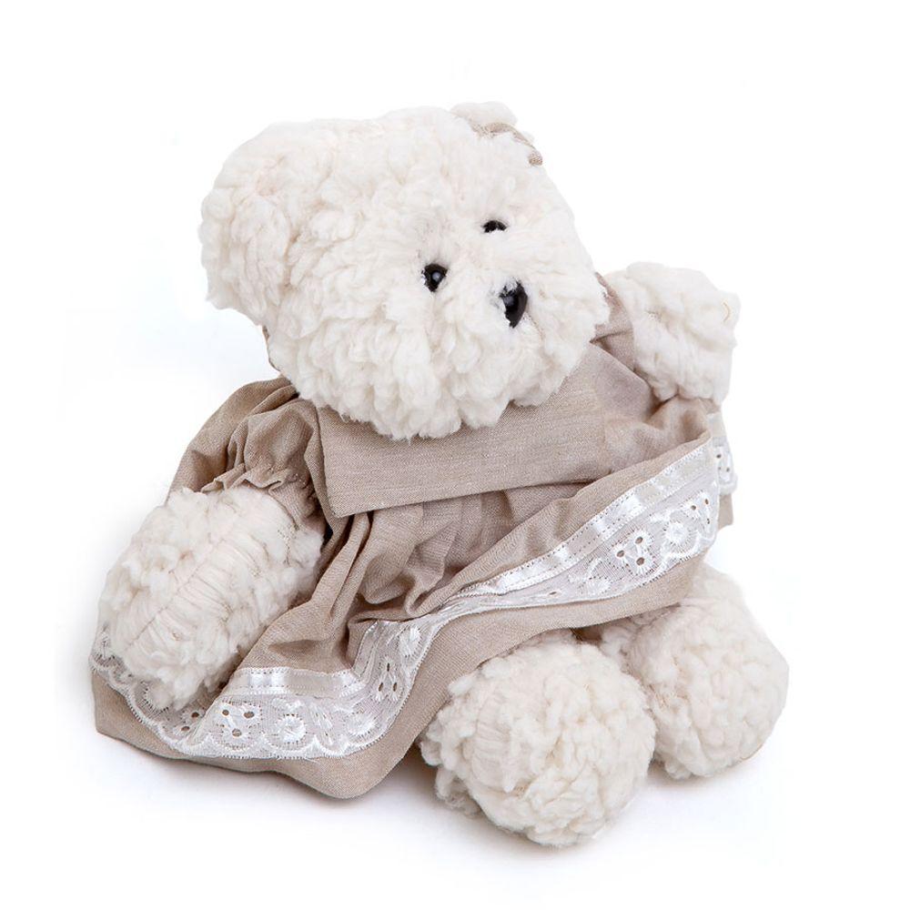 Ursa Dottie Pequena Palha Cru