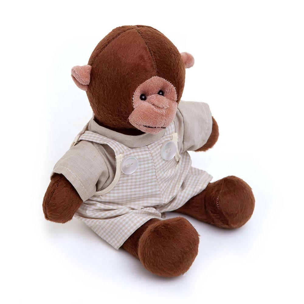 Macaco Pequeno com Macacão Cru