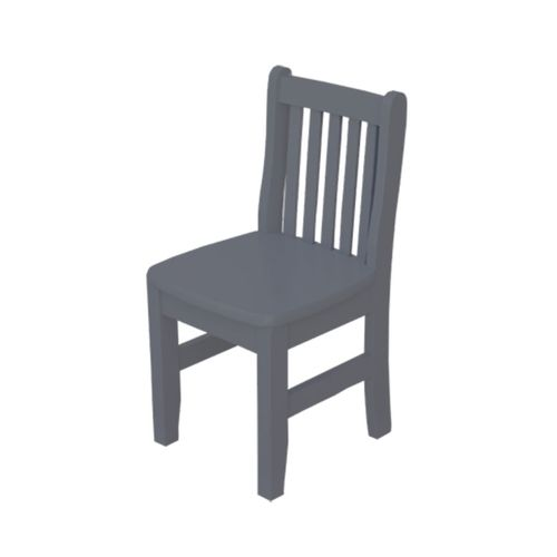 Cadeira Infantil Square Cinza