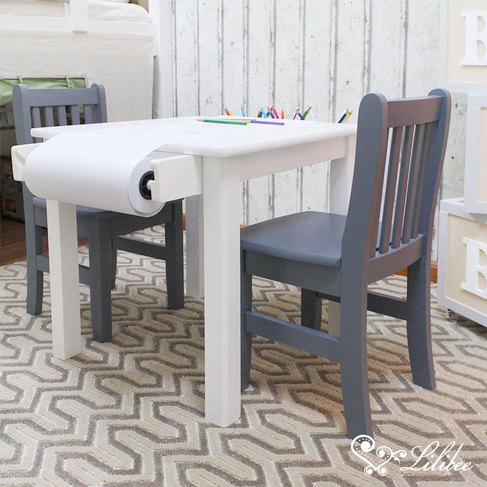 Cadeira Infantil Square Cinza 2