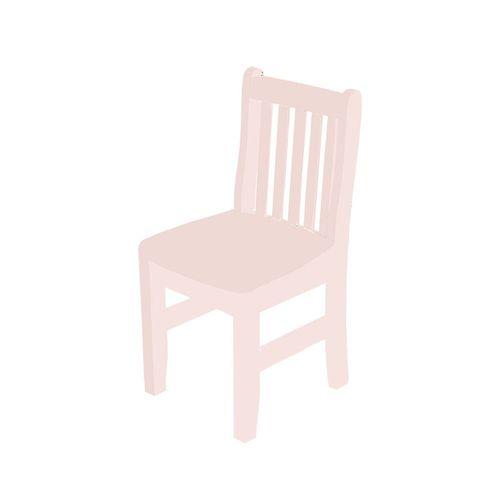 Cadeira Infantil Square Rosa