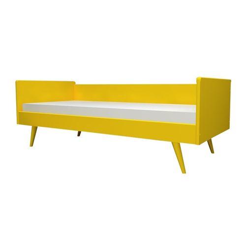 Cama Sofá Viena Amarelo Sol