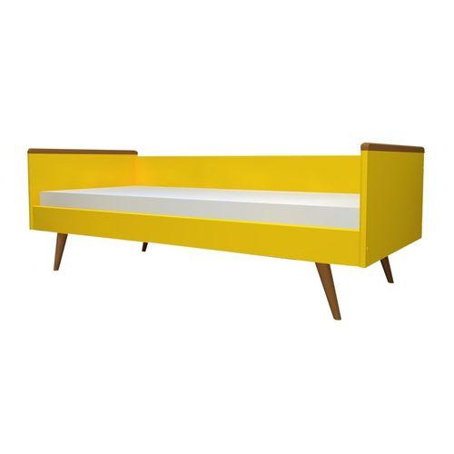 Cama Sofá Viena Amarelo Sol e Mel