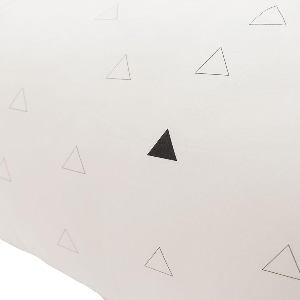 Kit Berço Triângulo Vazado Preto 4
