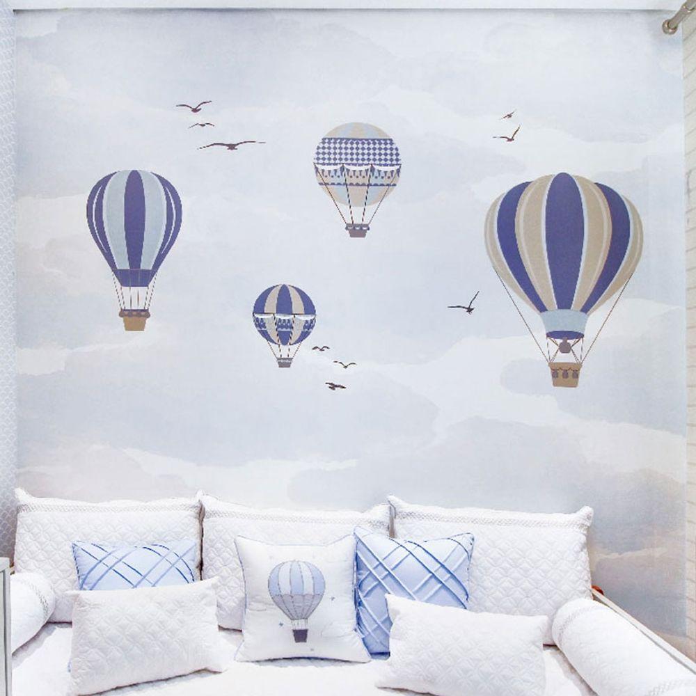 Painel Balão no Céu Azul Claro