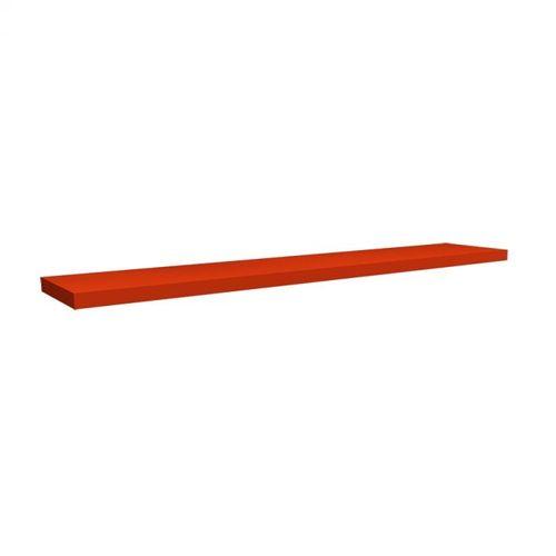 Prateleira Infantil Viena 100cm Vermelho Tomate