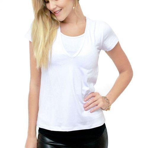 Blusa para Amamentar Basic Branco