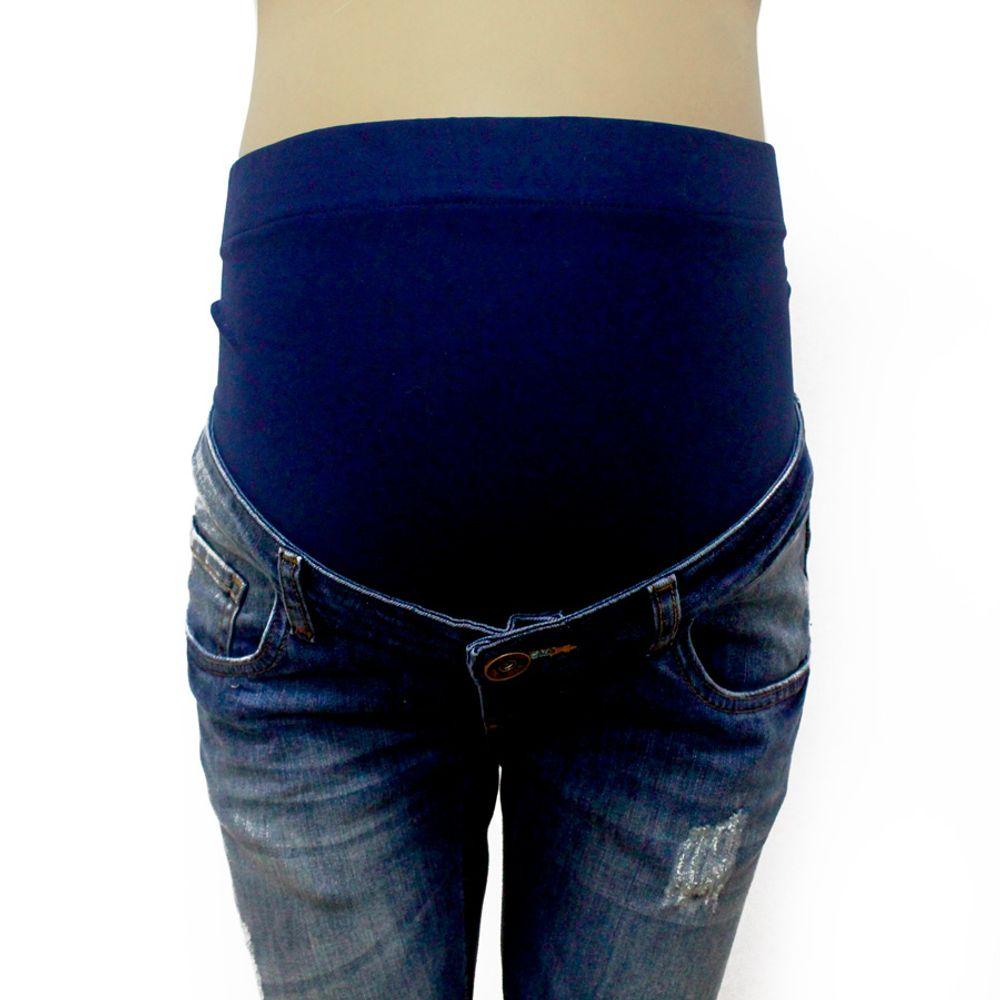 Calça Jeans para Gestante Flare barriga