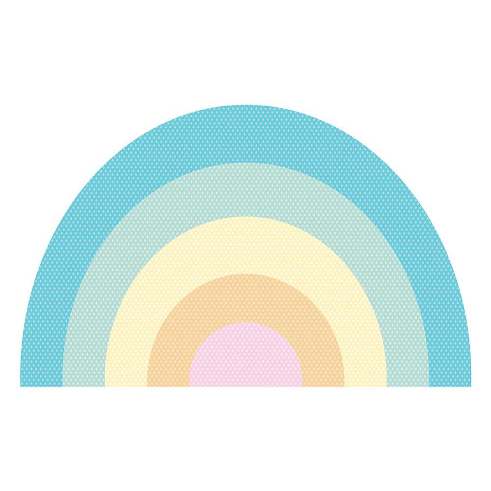 Tapete Interativo Vinílico Formato Arco Íris 100X160cm