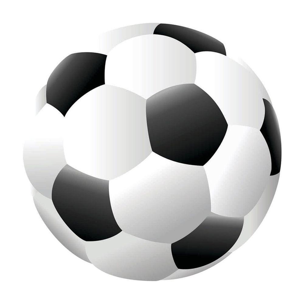 Tapete Interativo Vinílico Formato Bola de Futebol 100cm