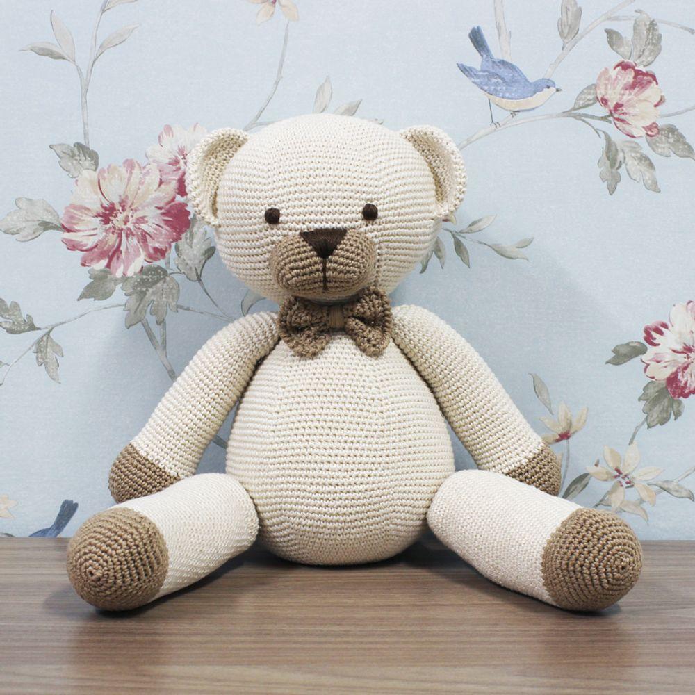 Amigurumi crochê urso artesanal oll brinquedo bebê rettle|toys ... | 1000x1000