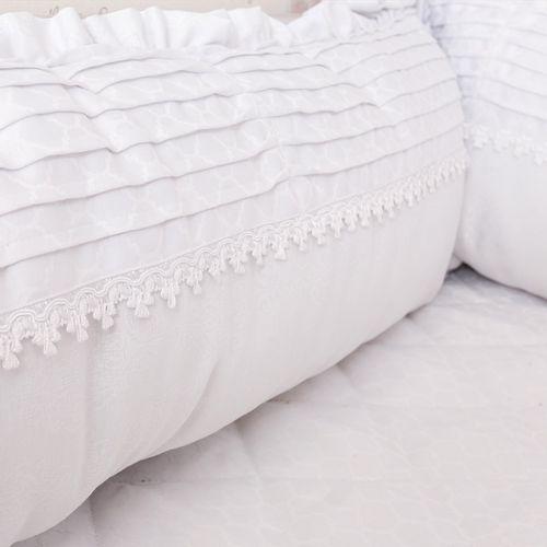 Kit Berço Elegance Branco 8