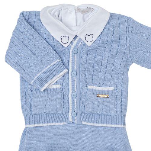 Saída de Maternidade Tenista Azul Claro