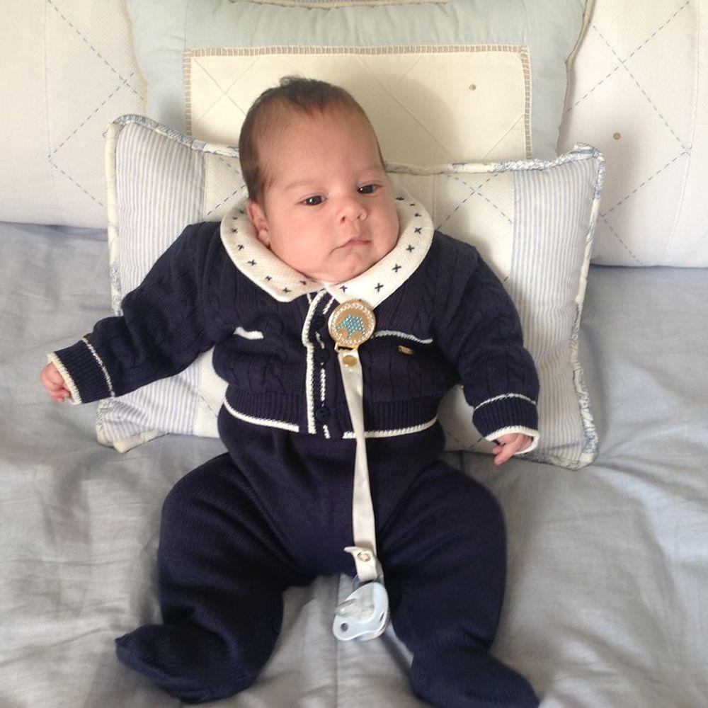 Saída de Maternidade Tenista Marinho bebê