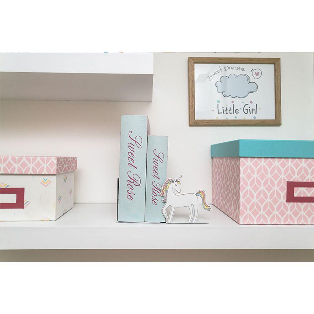 Quarto Montessoriano Unicórnio caixas