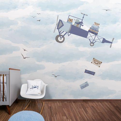 Painel Avião no Céu - Lado Direito