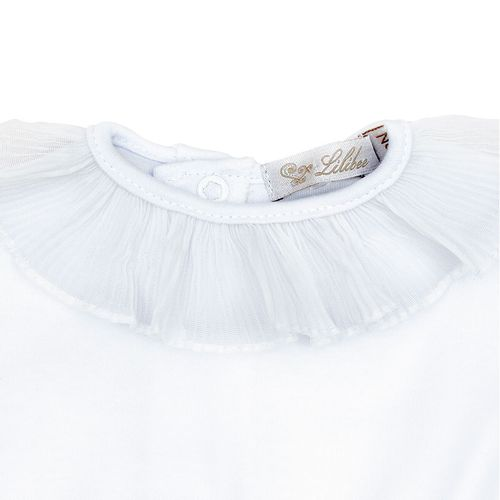 Conjunto Body Plissado Branco