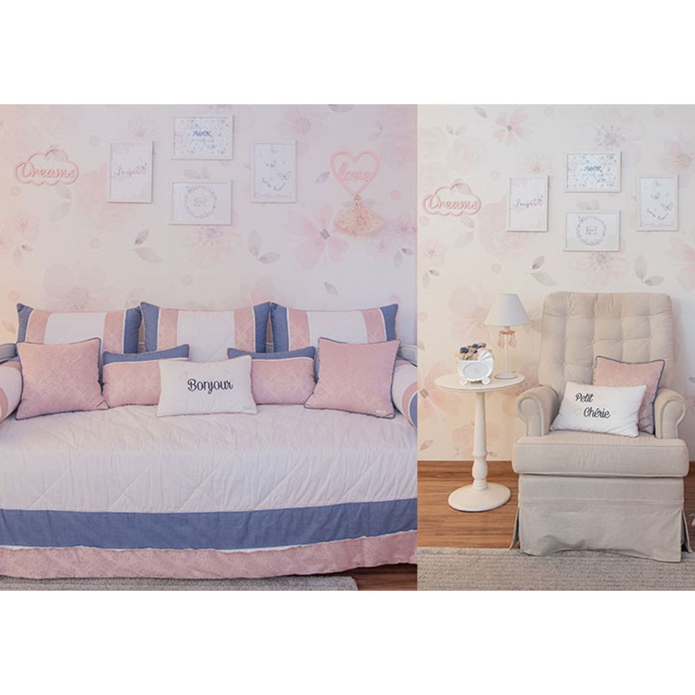 Quarto de Menina Chérie kit cama