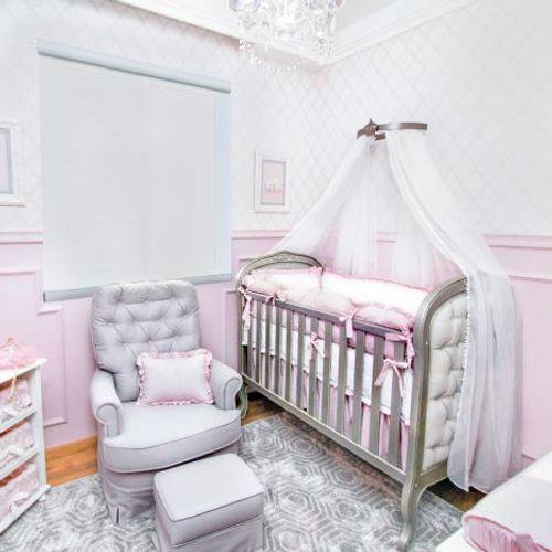 Quarto de Bebê Sophie Comora berço