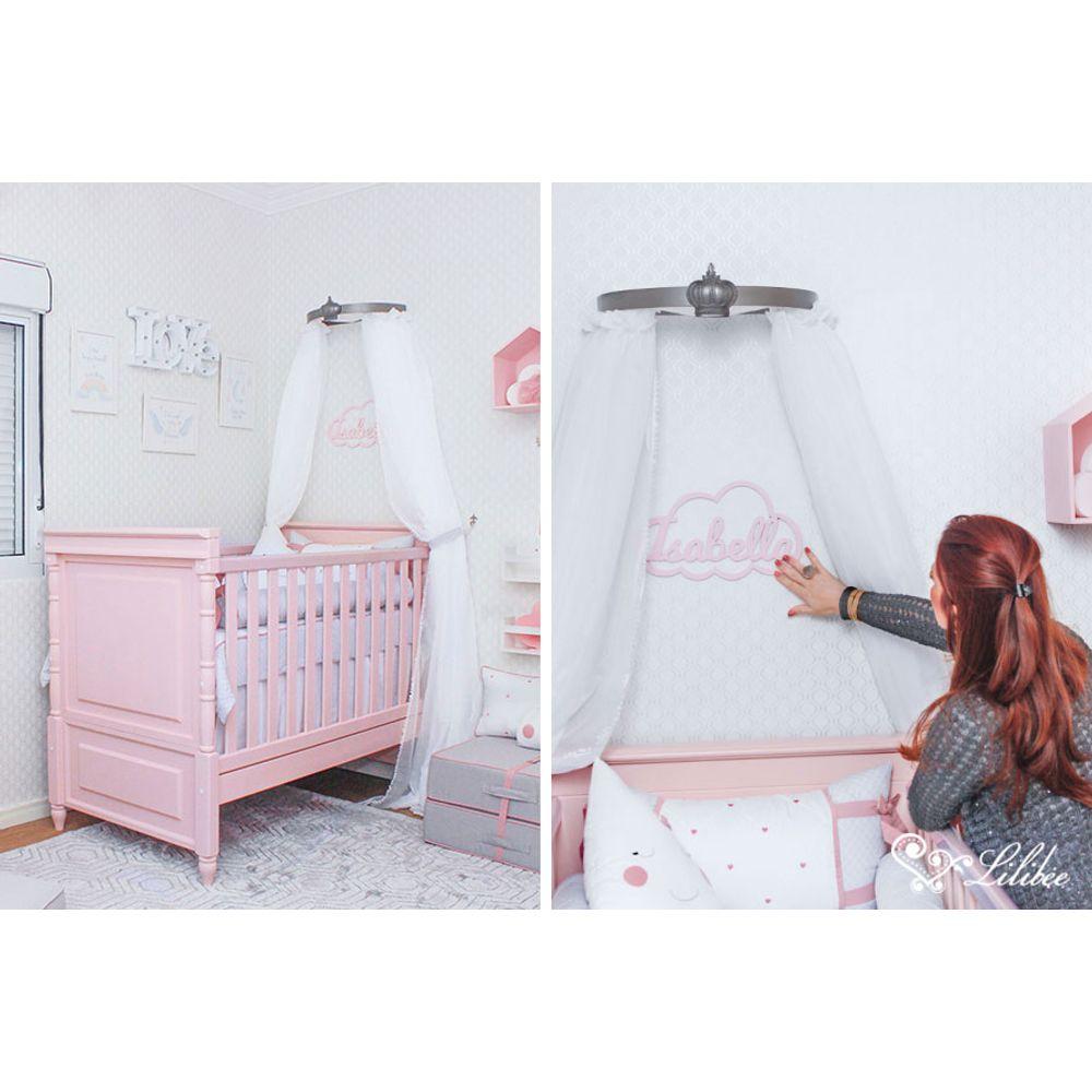 Quarto de Bebê Isabella Mantelli berço