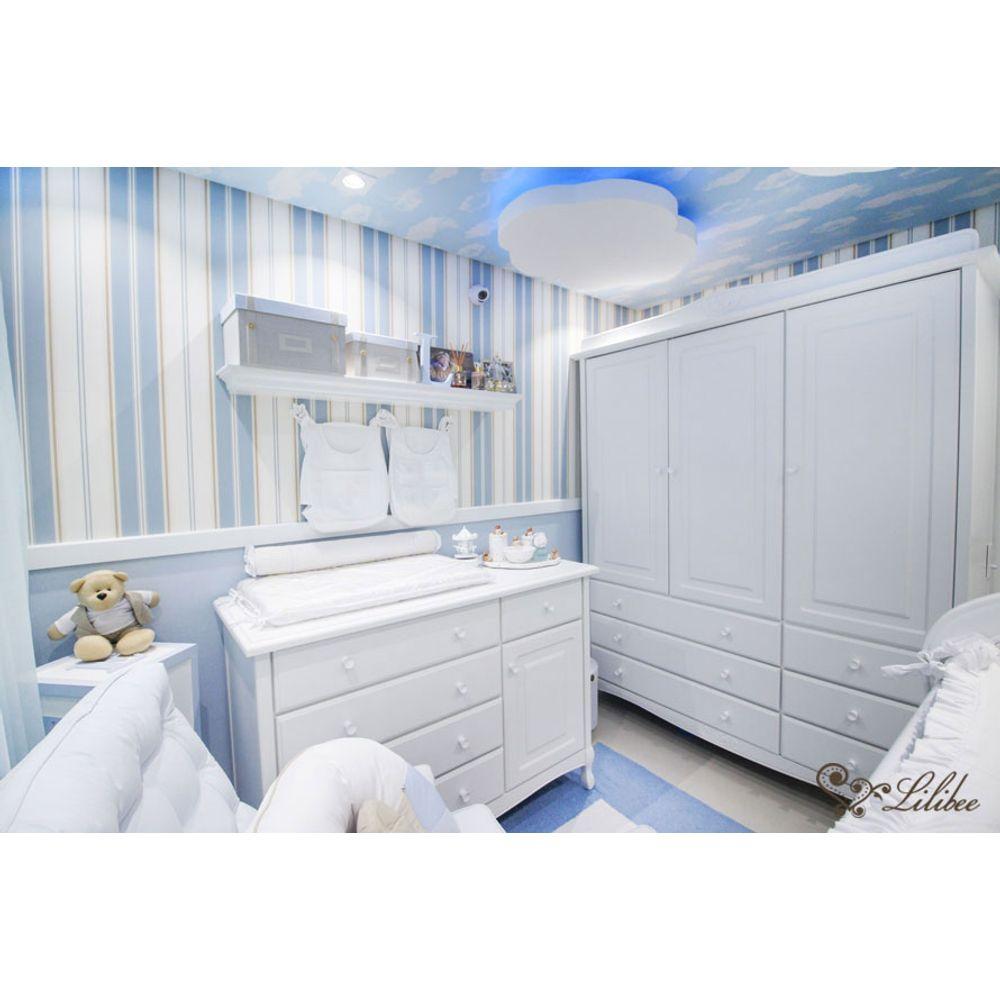 Quarto Serenity Blue armário