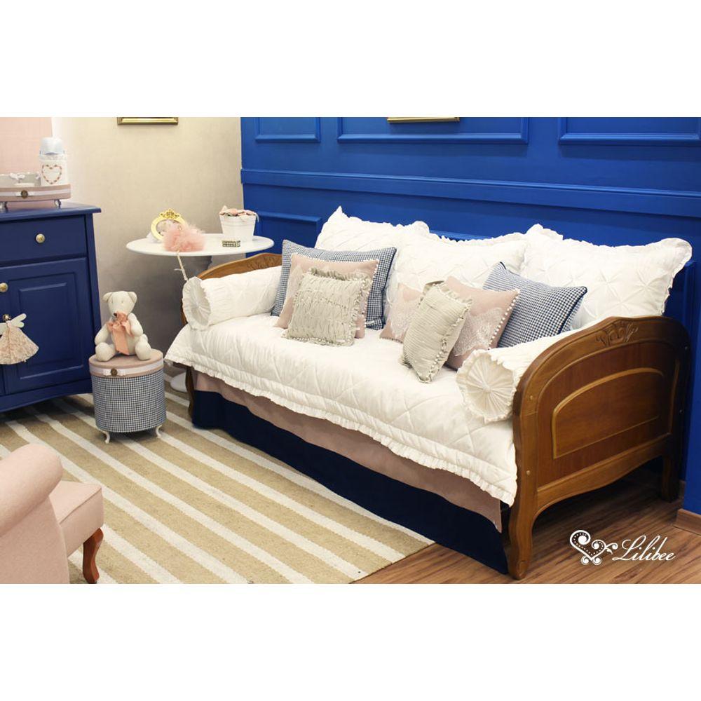 Quarto Princesa Azul cama babá
