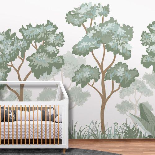 Painel Floresta Verde Seco