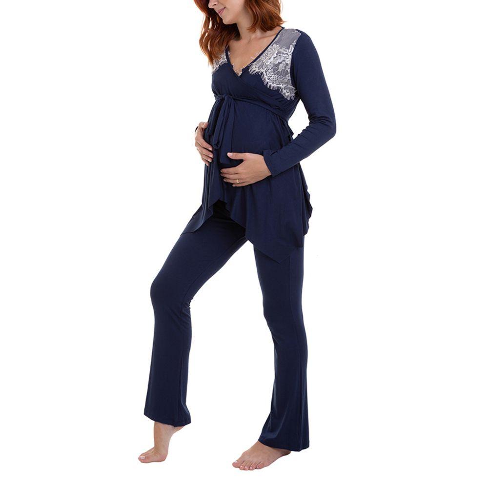 Pijama Maternidade Ayla lado