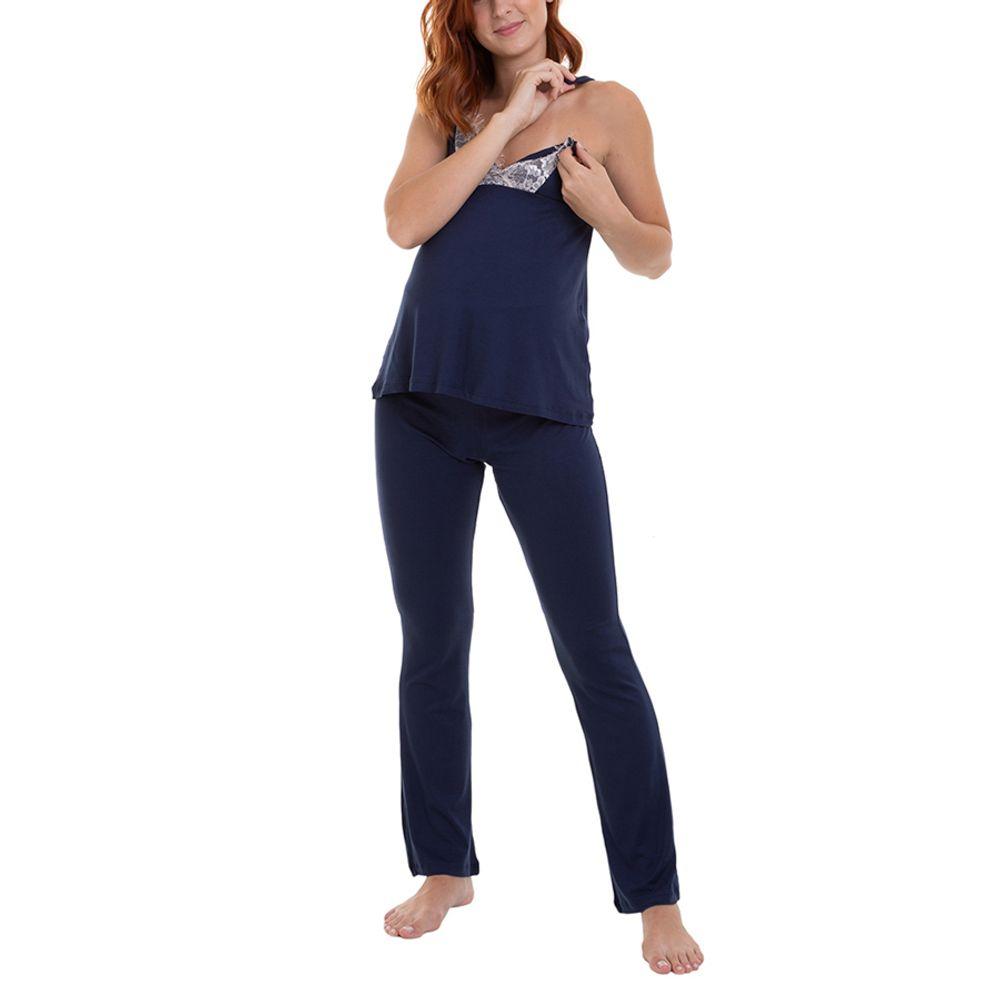 Pijama Maternidade Ayla abertura