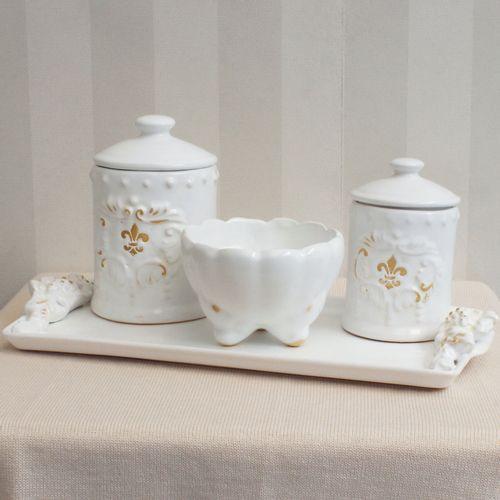 Kit-Higiene-Ceramica-Flor-de-Liz-Provencal