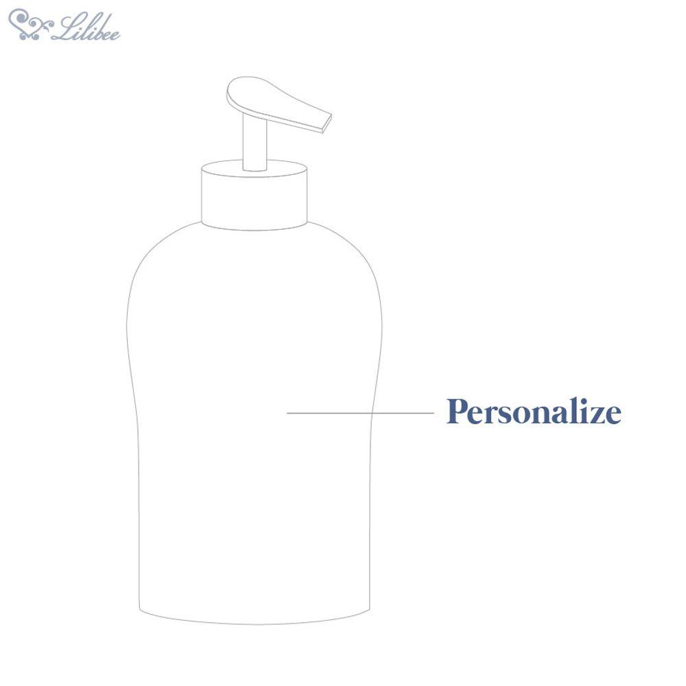 Pote Álcool em Gel de Porcelana Personalizado