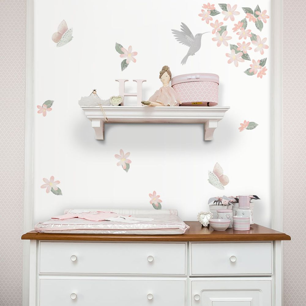 Adesivo-de-Parede-Floral-LIV-Rosa-1