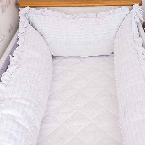 Kit Berço Elegance Branco 1