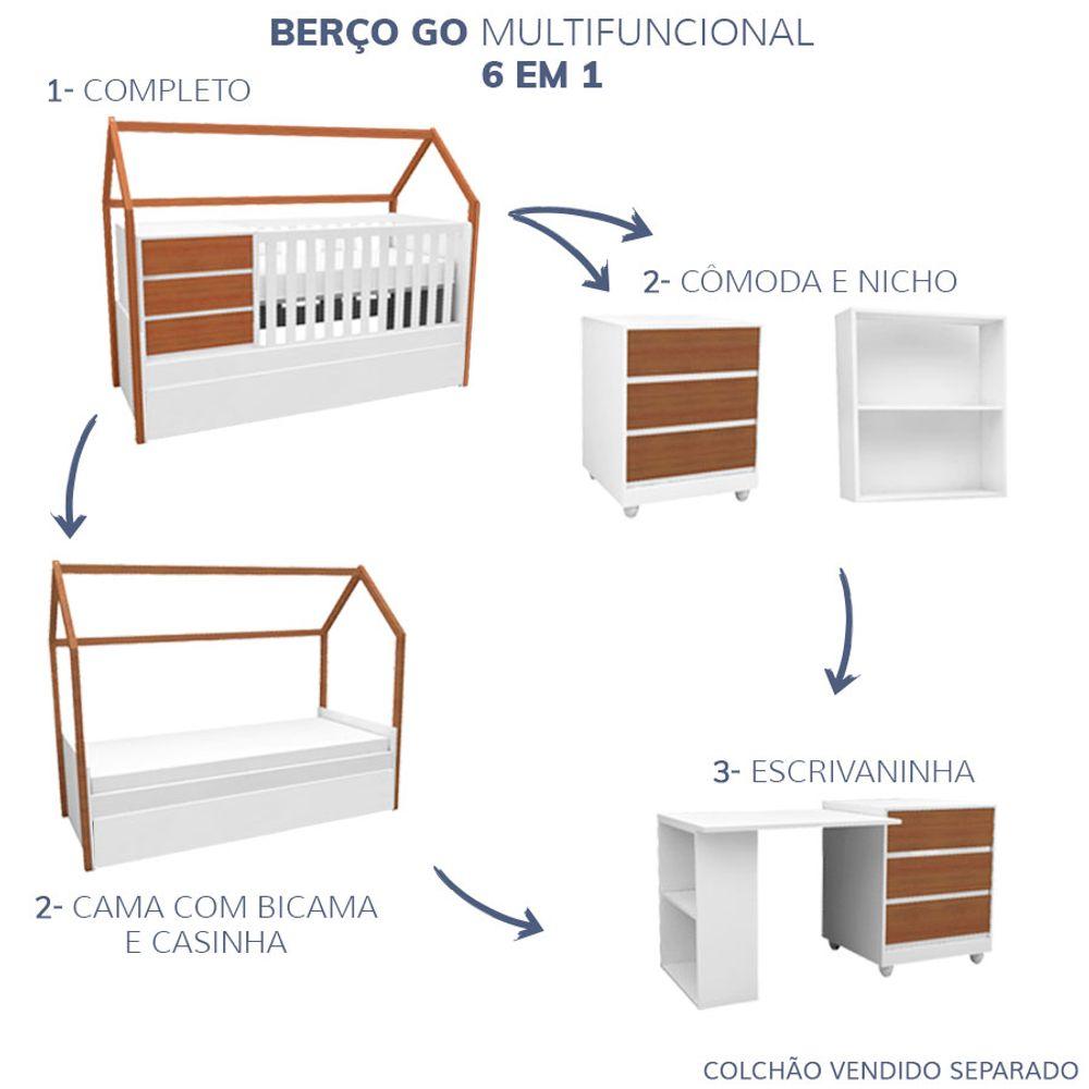 Berco-GO-com-Casinha-Multifuncional-6-em-1-Branco-e-Mel-4