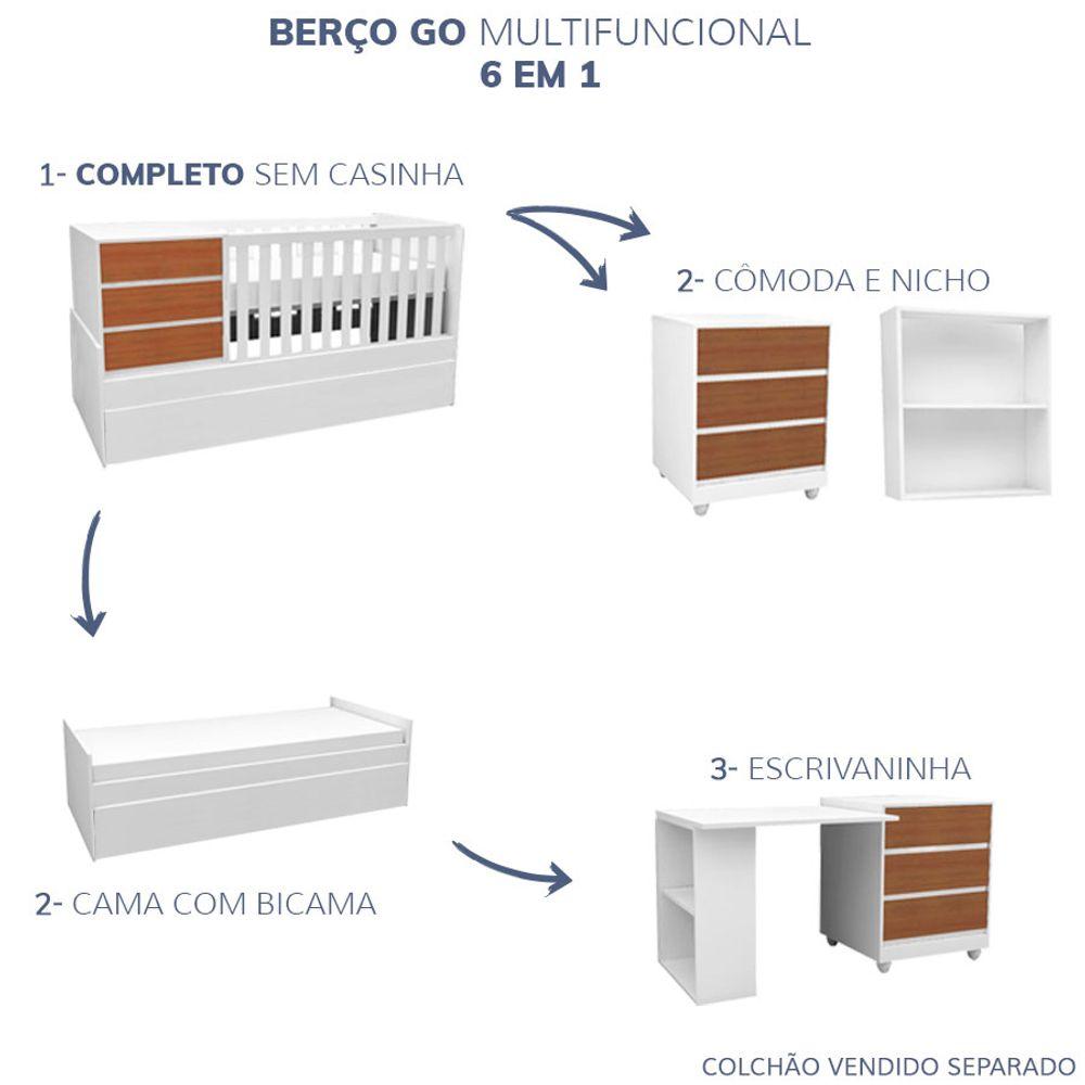 Berco-GO-sem-Casinha-Multifuncional-6-em-1-Branco-e-Mel-4