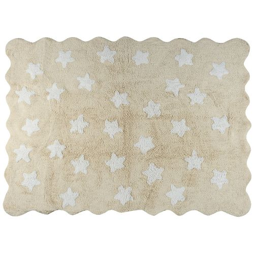 Tapete-Mini-Star-Bege-e-Branco-160x120cm---Nina---Co