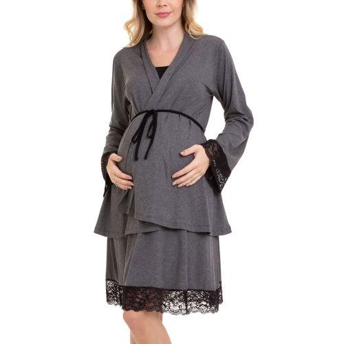Camisola-Maternidade-com-Casaco-Lia-2-Pecas-Mescla-Escuro-1