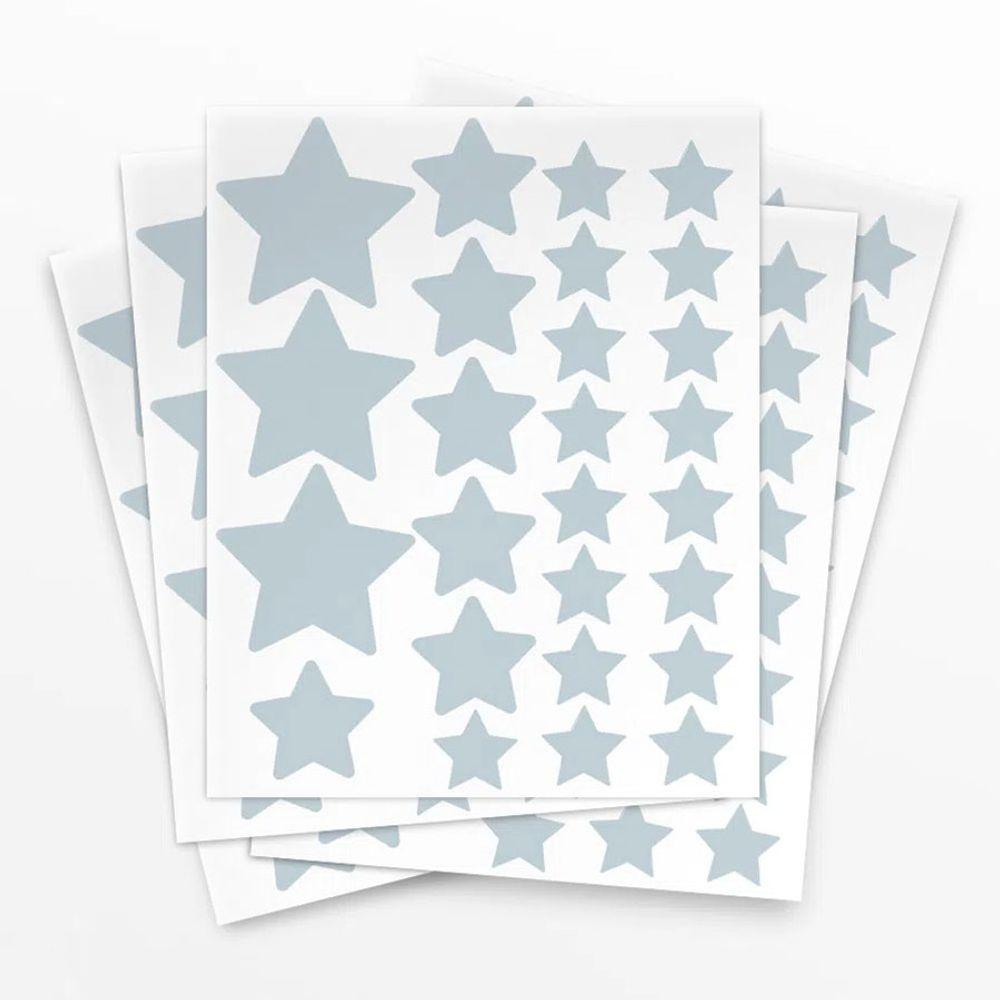 Adesivo-de-Parede-Estrela-Azul-Claro-4