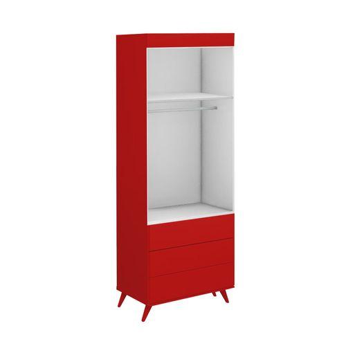 Guarda-Roupa-Infantil-2-Portas-Viena-Vermelho-Tomate-3