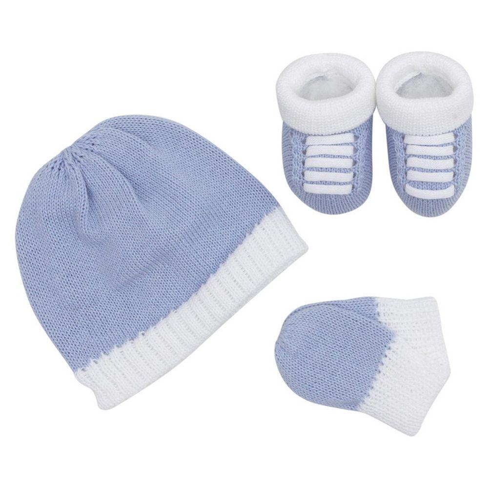 Kit-Touca-Luva-e-Tenis-Tricot---Azul-Claro-1