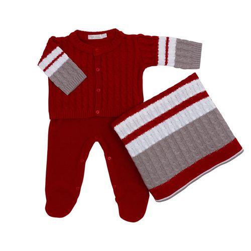 Saida-de-Maternidade-Tricot-Tranca-Classic-Vermelho---Kit-com-Manta-1