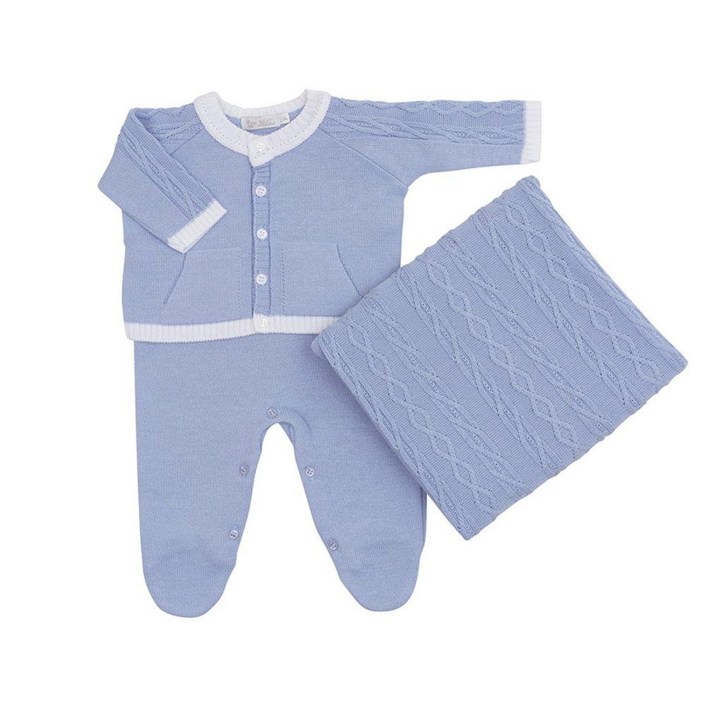 Saida-de-Maternidade-Tricot-Bolso-Canguru-Azul-Claro---Kit-com-Manta-1