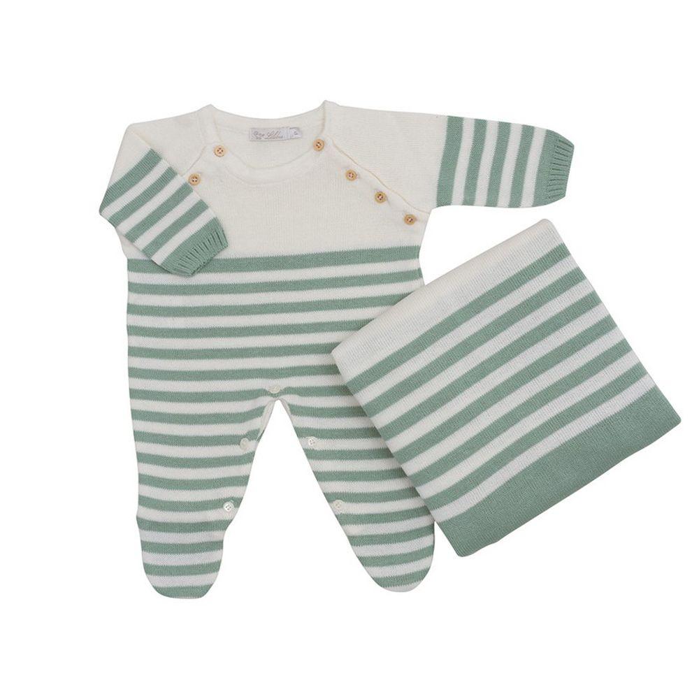 Saida-de-Maternidade-Tricot-Listra-Verde---Kit-com-Manta-1