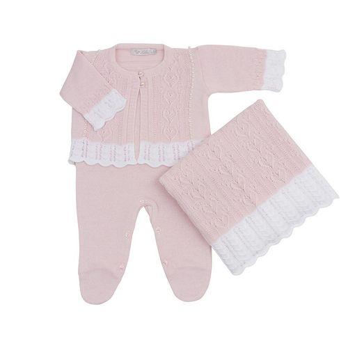 Saida-de-Maternidade-Tricot-Coracao-Rosa-Pastel---Kit-com-Manta-1