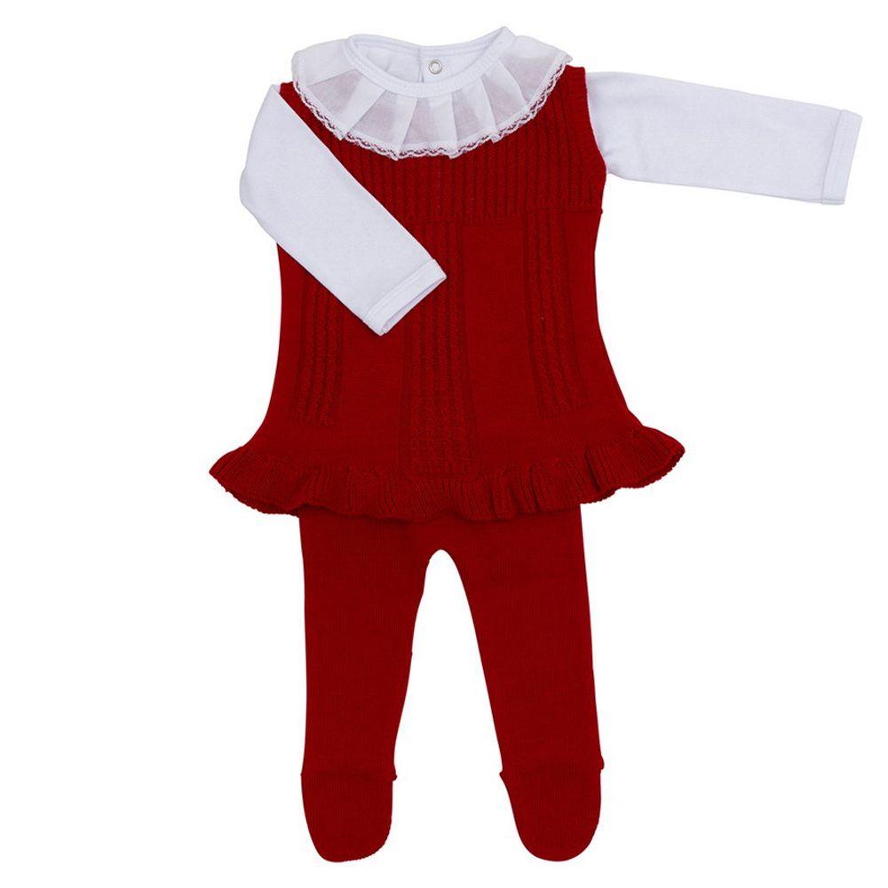 Saida-de-Maternidade-Tricot-Babado-Vermelho---Vestido-com-Meia-Calca-e-Body-1